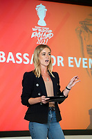 Picture by Allan McKenzie/SWpix.com - 14/06/2018 - Commercial - Rugby League - Rugby League World Cup 2021 Ambassador Unveil, Marne Barracks, Catterick, England - Rachel Stringer.