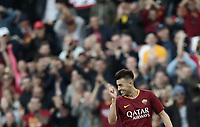 Football, Serie A: AS Roma - Sampdoria, Olympic stadium, Rome, November 11, 2018. <br /> Roma's Stephan El Shaarawy celebrates after scoring during the Italian Serie A football match between Roma and Sampdoria at Rome's Olympic stadium, on November 11, 2018.<br /> UPDATE IMAGES PRESS/Isabella Bonotto