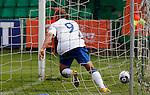 Soccer, UEFA U-17.France Vs. England.Hallam Hope, celebrate.Indjija, 03.05.2011..foto: Srdjan Stevanovic