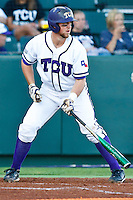 Bryan Holaday April 27th, 2010; NCAA Baseball action, Baylor University Bears vs TCU Horned Frogs at Lupton Stadium in Fort Worth, Tx;  TCU won 5-4 in extra innings.