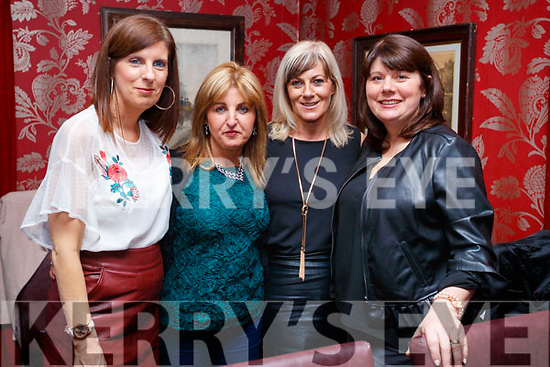 Tracey Quill, Linda O'Brien, Geraldine Slattery and Mary Egan, enjoying a girls night out at Cassidy's restaurant, Tralee on Saturday night last.