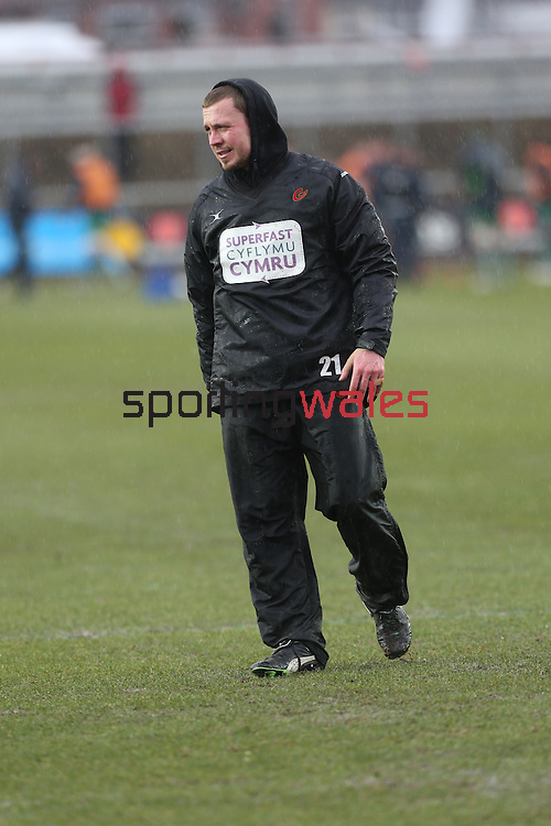 Richie Rees<br /> Guiness Pro12<br /> Gwent Dragons v Connacht<br /> Rodney Parade<br /> 22.02.15<br /> ©Steve Pope -SPORTINGWALES