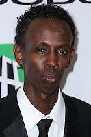 BEVERLY HILLS, CA - OCTOBER 21: Barkhad Abdi at 17th Annual Hollywood Film Awards held at The Beverly Hilton Hotel on October 21, 2013 in Beverly Hills, California. (Photo by Xavier Collin/Celebrity Monitor)
