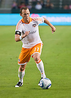 CARSON, CA – July 23, 2011: Houston Dynamo midfielder Brad Davis (11) during the match between Chivas USA and Houston Dynamo at the Home Depot Center in Carson, California. Final score Chivas USA 3, Houston Dynamo 0.