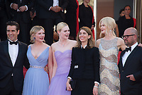 Colin Farrell, Kirsten Dunst, Elle Fanning, Sofia Coppola, Nicole Kidman &amp; Youree Henley at the premiere for &quot;The Beguiled&quot; at the 70th Festival de Cannes, Cannes, France. 24 May 2017<br /> Picture: Paul Smith/Featureflash/SilverHub 0208 004 5359 sales@silverhubmedia.com