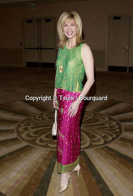 The producer Guild Awards 2001, - Golden Laurel Awards - was held at the Century Plaza in Los Angeles  3/3/2001  GibbonsLeeza01.JPG