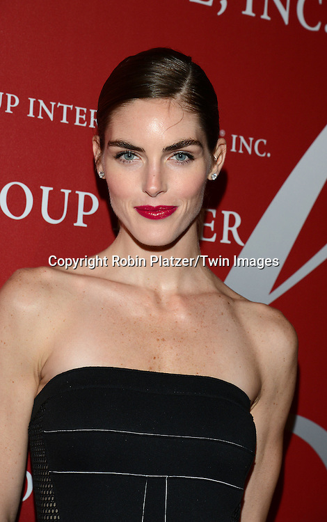 Hilary Rhoda attends the 31st Annual Night of Stars &quot;The Protagonists&quot;<br /> presented by The Fashion Grouip International on October 23, 2014 at Cipriani Wall Street in New York City. <br /> <br /> photo by Robin Platzer/Twin Images<br />  <br /> phone number 212-935-0770