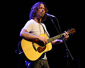 MIAMI BEACH, FL - MAY 16: Chris Cornell performs at Fillmore Miami Beach on May 16, 2012 in Miami Beach, Florida.Credit Larry Marano © 2012