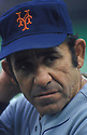 New York Mets Yogi Berra (8) portrait   Yogi Berra coached the New York Mets from 1972-1975. Yogi Berra was inducted to the Baseball Hall of Fame in 1972.David Durochik/SportPics