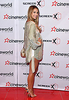 Vogue Williams<br /> Launch party of Cineworld Group's new Korean-developed technology, using projections on the side of theatre walls to create a 270 degree viewing experience, at Cineworld Greenwich, The O2, London, England, UK.<br /> CAP/JOR<br /> &copy;JOR/Capital Pictures