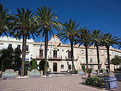 La Laguna, central square, Ayamonte, Spain