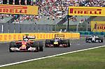 Fernando Alonso (ESP),  Scuderia Ferrari - Daniel Ricciardo (AUS)  Red Bull Racing - Lewis Hamilton (GBR), Mercedes GP<br />  Foto © nph / Mathis