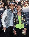 Jaden Smith & Willow Smith at the Summit Entertainment's Premiere of The Twilight Saga : Eclipse held at the Los Angeles Film Festival at Nokia Live in Los Angeles, California on June 24,2010                                                                               © 2010 Debbie VanStory / Hollywood Press Agency