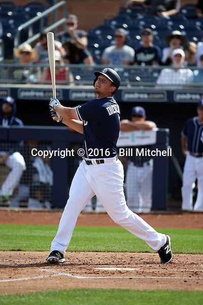 Alex Dickerson - San Diego Padres 2016 spring training (Bill Mitchell)