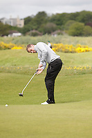 Declan Reidy (Co.Sligo) on the 13th during Round 3 of The Irish Amateur Open Championship in The Royal Dublin Golf Club on Saturday 10th May 2014.<br /> Picture:  Thos Caffrey / www.golffile.ie