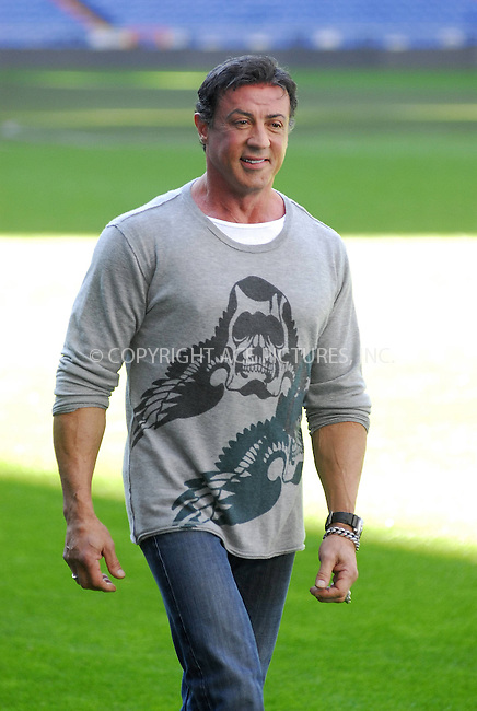 WWW.ACEPIXS.COM . . . . .  ..... . . . . US SALES ONLY . . . . .....January 28 2008, Madrid, Spain....Actor Sylvester Stallone at 'John Rambo' press conference at a Soccer Stadium in Madrid....Please byline:  JN/ACEPIXS.COM... . . . .  ....Ace Pictures, Inc:  ..tel: 646 769 0430..e-mail: info@acepixs.com..web: http://www.acepixs.com
