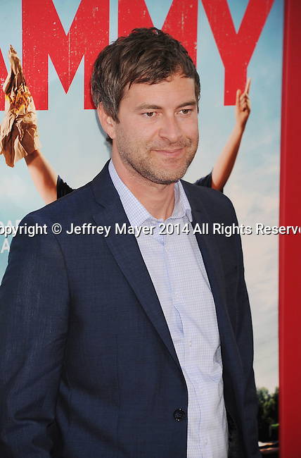 HOLLYWOOD, CA- JUNE 30: Actor Mark Duplass arrives at the 'Tammy' - Los Angeles Premiere at TCL Chinese Theatre on June 30, 2014 in Hollywood, California.