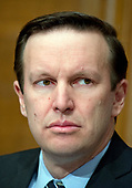 United States Senator Chris Murphy (Democrat of Connecticut) during the confirmation hearing for R. Alexander Acosta, Dean of Florida International University College of Law and US President Donald J. Trump's nominee for US Secretary of Labor, on Capitol Hill in Washington, DC on Wednesday, March 22, 2017.<br /> Credit: Ron Sachs / CNP