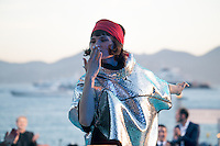 Olivia Merilahti, concert de The Do <br /> Festival del Cinema di Cannes 2015<br /> Foto Panoramic / Insidefoto
