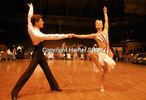 Ballroom Dancing competition Blackpool England Uk