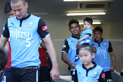Renato (Frontale), <br /> MAY 10, 2014 - Football /Soccer : <br /> 2014 J.LEAGUE Division 1 <br /> between Kawasaki Frontale 4-1 Kashima Antlers <br /> at Kawasaki Todoroki Stadium, Kanagawa, Japan. <br /> (Photo by AFLO SPORT) [1205]
