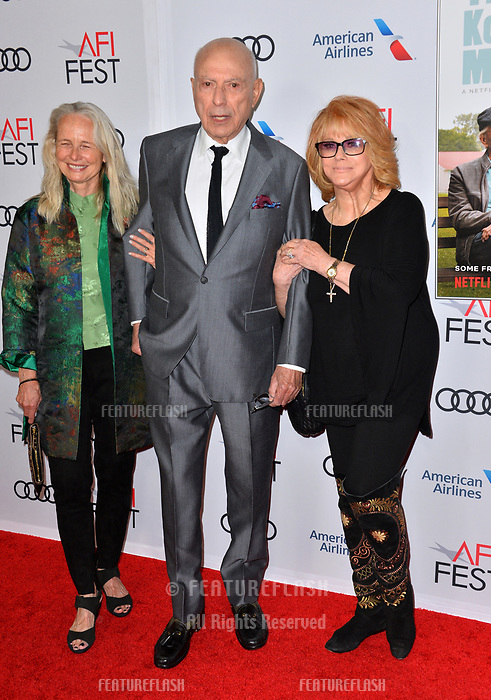 LOS ANGELES, CA. November 10, 2018: Ann-Margret, Alan Arkin &amp; Suzanne Newlander Arkin at the AFI Fest 2018 world premiere of &quot;The Kominsky Method&quot; at the TCL Chinese Theatre.<br /> Picture: Paul Smith/Featureflash