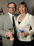 Victoria and Marshal Lightman at Martini Madness at the Center for Contemporary Craft Thursday Jan. 22,2015.(Dave Rossman For the Chronicle)