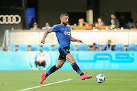 San Jose, CA - Saturday August 25, 2018: Guram Kashia prior to a Major League Soccer (MLS) match between the San Jose Earthquakes and Vancouver Whitecaps FC at Avaya Stadium.