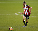 Ben Whiteman of Sheffield Utd  during the Emirates FA Cup Round One match at Bramall Lane Stadium, Sheffield. Picture date: November 6th, 2016. Pic Simon Bellis/Sportimage