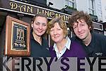 Siobhain, Han Linehan and Diarmuid O'Callaghan celebrate Dan Linehan's Bar Killarney wiinning the Irish Racing Pub of the Year Award on Tuesday   Copyright Kerry's Eye 2008
