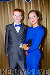 Attending the Castleisland Community College Debs at the Earl of Desmond Hotel on Friday night were l-r  Kevin Nelligan and Lianne O'Connor.