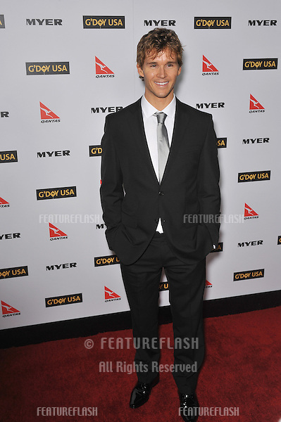 Ryan Kwanten at the 2010 G'Day USA Australia Week Black Tie Gala at the Grand Ballroom at Hollywood & Highland..January 16, 2010  Los Angeles, CA.Picture: Paul Smith / Featureflash