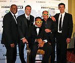 Forrest Whitaker, Kurt Warner, Muhammad Ali, Stuart Rahr and Michael Phelps..Muhammad Ali Celebrityvibe Fight Night XV..A Benefit to raise funds to fight against Parkinson disease..Marriott Hotel and Resort..Phoenix, AZ, USA..Saturday, March 28, 2009..Photo By Celebrityvibe.com.To license this image please call (212) 410 5354; or Email: celebrityvibe@gmail.com ;.website: www.celebrityvibe.com