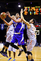Tai Wesley in action during the NBL - Wellington Saints v Hawks Bay Hawks at TSB Bank Arena,  Wellington,  New Zealand on Friday 8 April 2016. <br /> Photo by Masanori Udagawa. <br /> www.photowellington.photoshelter.com.