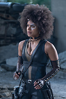DEADPOOL 2 (2018)<br /> Zazie Beetz as Domino <br /> *Filmstill - Editorial Use Only*<br /> CAP/FB<br /> Image supplied by Capital Pictures