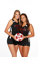 Stanford, CA -- October 9, 2018: Stanford Beach Volleyball Photo Day.