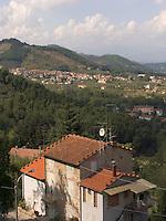 Hilltown village of Castelvecchio, Tuscany, Ital