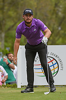 Tyrrell Hatton (ENG) watches his tee shot on 18 during round 4 of the World Golf Championships, Mexico, Club De Golf Chapultepec, Mexico City, Mexico. 2/24/2019.<br /> Picture: Golffile | Ken Murray<br /> <br /> <br /> All photo usage must carry mandatory copyright credit (© Golffile | Ken Murray)