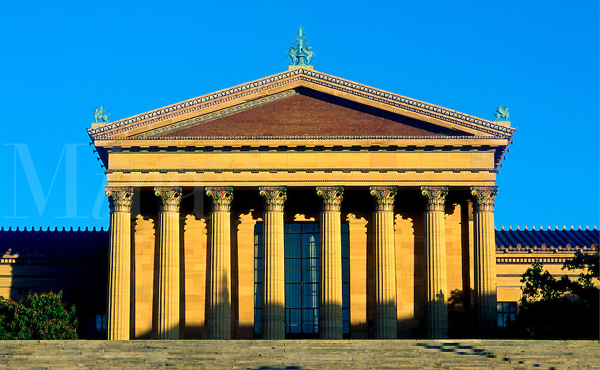 Museum of art, Philadelphia, Pennsylvania, PA
