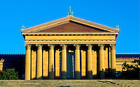 Museum of art, Philadelphia, Pennsylvania, PA