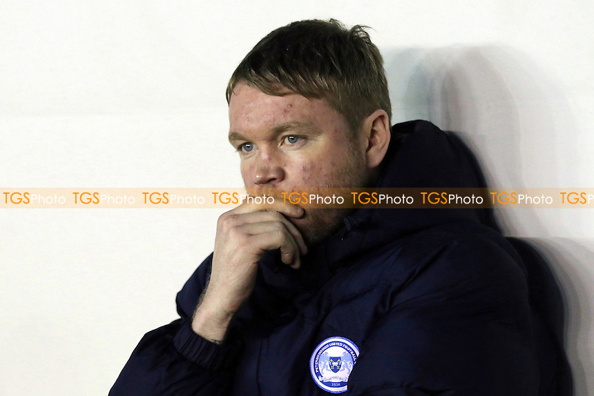 Peterborough United Manager, Grant McCann during Millwall vs Peterborough United, Sky Bet EFL League 1 Football at The Den on 28th February 2017