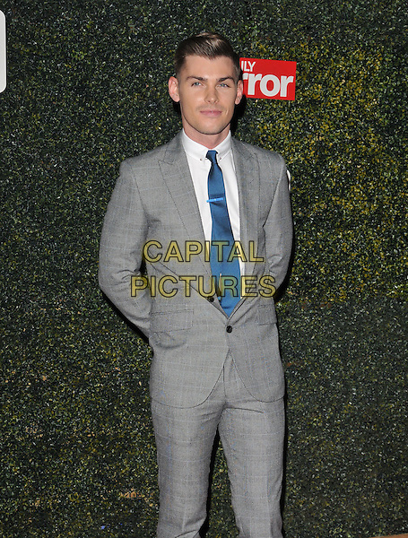 Kieron Richardson attends the Daily Mirror Pride of Sport Awards 2015, Grosvenor House Hotel, Park Lane, London, England, UK, on Wednesday 25 November 2015. <br /> CAP/CAN<br /> &copy;Can Nguyen/Capital Pictures