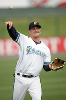 July 6 2009: Blake Trinkler of the Everett AquaSox before game against the Yakima Bears at Everett Memorial Stadium in Everett,WA.  Photo by Larry Goren/Four Seam Images
