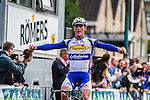 Yves LAMPAERT (BEL), Topsport Vlaanderen - Baloise, solos to race win,  Arnhem Veenendaal Classic , UCI 1.1, Veenendaal, The Netherlands, 22 August 2014, Photo by Thomas van Bracht / Peloton Photos