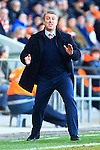 Blackpool's manager, Lee Clarke - Blackpool vs. Nottingham Forest - Skybet Championship - Bloomfield Road - Blackpool - 14/02/2015 Pic Philip Oldham/Sportimage