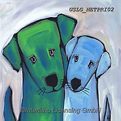 Nettie,REALISTIC ANIMALS, REALISTISCHE TIERE, ANIMALES REALISTICOS, paintings+++++Dog Love,USLGNETPRI02,#A#, EVERYDAY pop art