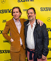 "AUSTIN, TX - MARCH 17: Wes Anderson and Randall Poster attends the closing night screening of Fox Searchlight Pictures ""Isle of Dogs"" at the 2018 SXSW Festival at the Paramount Theatre on March 17, 2018 in Austin, Texas. (Photo by Thao Nguyen/Fox Searchlight/PictureGroup)"