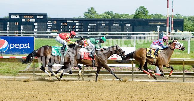 Homeboykris winning at Delaware Park on 6/13/12