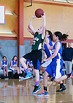 Blach Junior High 8th Grade Girls vs Hyde Middle School in the City Gym on the Blach Campus.  March 3, 2016