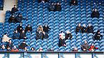 Rangers fans enjoying the match